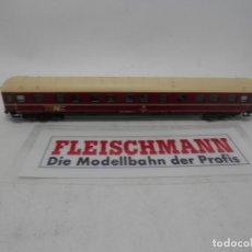 Trenes Escala: VAGÓN CAMAS DE LA DB ESCALA N DE FLEISCHMANN . Lote 157062378