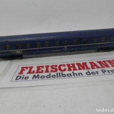 Trenes Escala: VAGÓN CAMAS DE LA DB ESCALA N DE FLEISCHMANN . Lote 157062914