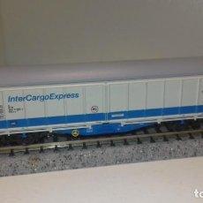 Trenes Escala: FLEISCHMANN N MERCANCÍAS 2 EJES LARGO (CON COMPRA DE 5 LOTES O MAS, ENVÍO GRATIS). Lote 166626394