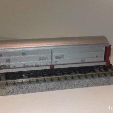 Trenes Escala: FLEISCHMANN N MERCANCÍAS 2 EJES PUERTAS CORREDERAS (CON COMPRA DE 5 LOTES O MAS, ENVÍO GRATIS). Lote 166626466