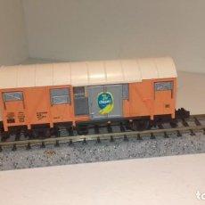 Trenes Escala: FLEISCHMANN N CERRADO PUERTAS CORREDERAS (CON COMPRA DE 5 LOTES O MAS, ENVÍO GRATIS). Lote 166928296