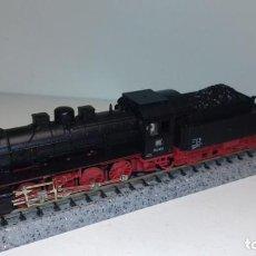 Trenes Escala: FLEISCHMANN N LOCOMOTORA DE VAPOR BR 55 2875 (CON COMPRA DE 5 LOTES O MAS, ENVÍO GRATIS). Lote 167044164