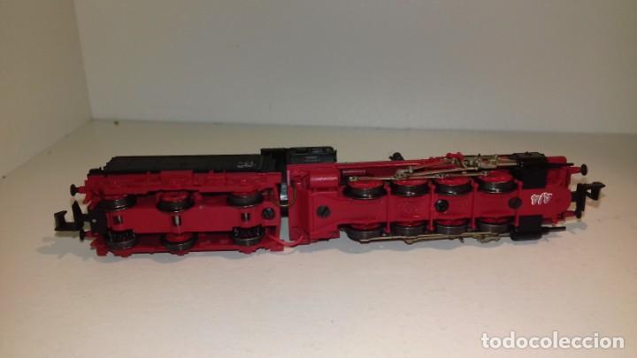 Trenes Escala: FLEISCHMANN N locomotora de vapor BR 55 2875 (Con compra de 5 lotes o mas, envío gratis) - Foto 3 - 167044164