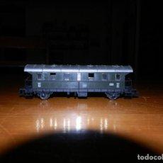 Trenes Escala: FLEISCHMANN N 8062K VAGÓN DE VIAJEROS DB 2ª CLASE. Lote 170941995