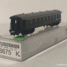 Trenes Escala: FLEISCHMANN VAGÓN DE PASAJEROS, REFERENCIA 8675 ESCALA N. Lote 171166408
