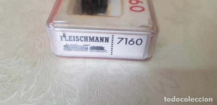 Trenes Escala: LOTE DE DOS LOCOMOTORAS FLEISCHMANN UNA PICCOLO 7160 EN SU CAJA ORIGINAL, LA OTRA NO SÉ EL MODELO. - Foto 17 - 171839595