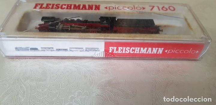 Trenes Escala: LOTE DE DOS LOCOMOTORAS FLEISCHMANN UNA PICCOLO 7160 EN SU CAJA ORIGINAL, LA OTRA NO SÉ EL MODELO. - Foto 18 - 171839595