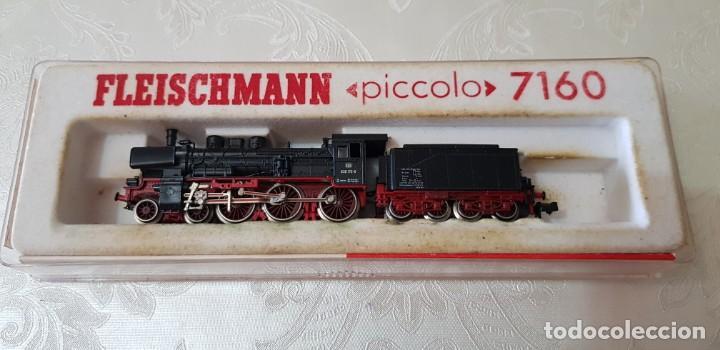 Trenes Escala: LOTE DE DOS LOCOMOTORAS FLEISCHMANN UNA PICCOLO 7160 EN SU CAJA ORIGINAL, LA OTRA NO SÉ EL MODELO. - Foto 20 - 171839595