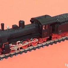 Trenes Escala: LOCOMOTORA + TENDER BR 53 REF. 7124, FLEISCHMANN MADE IN GERMANY, ESC. N, ORIGINAL AÑOS 90.. Lote 172589090