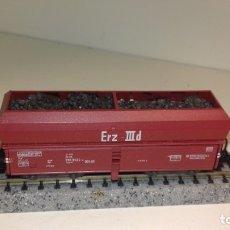 Trenes Escala: FLEISCHMANN N TOLVA DE CARBÓN CON CARGA ARTESANAL (CON COMPRA DE 5 LOTES O MAS, ENVÍO GRATIS). Lote 173013928
