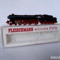 Trenes Escala: LOCOMOTORA DE VAPOR FLEISCHMANN 7170 BR 011 DE LA ESCALA N EN SU CAJA ORIGINAL. Lote 174177969