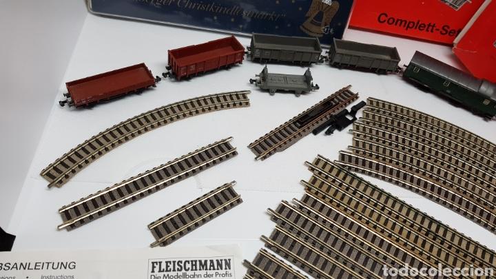 Trenes Escala: GRAN LOTE FLEISCHMANN + LECKERMAUL ARNOLD Y VIAS ESCALA N CON CAJAS Y DOCUMENTACION - Foto 4 - 174526265