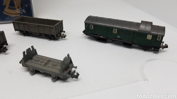 Trenes Escala: GRAN LOTE FLEISCHMANN + LECKERMAUL ARNOLD Y VIAS ESCALA N CON CAJAS Y DOCUMENTACION - Foto 15 - 174526265