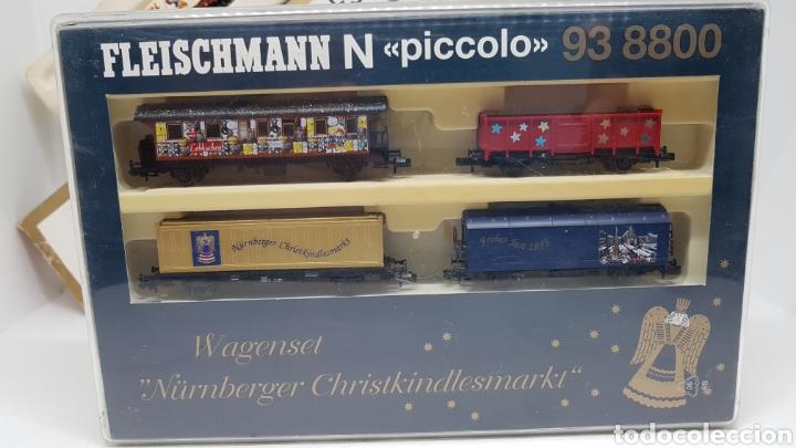 Trenes Escala: GRAN LOTE FLEISCHMANN + LECKERMAUL ARNOLD Y VIAS ESCALA N CON CAJAS Y DOCUMENTACION - Foto 18 - 174526265
