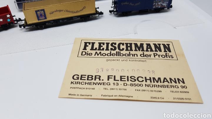 Trenes Escala: GRAN LOTE FLEISCHMANN + LECKERMAUL ARNOLD Y VIAS ESCALA N CON CAJAS Y DOCUMENTACION - Foto 19 - 174526265