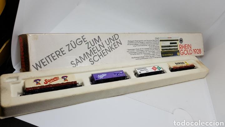 Trenes Escala: GRAN LOTE FLEISCHMANN + LECKERMAUL ARNOLD Y VIAS ESCALA N CON CAJAS Y DOCUMENTACION - Foto 25 - 174526265