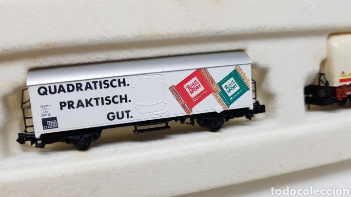 Trenes Escala: GRAN LOTE FLEISCHMANN + LECKERMAUL ARNOLD Y VIAS ESCALA N CON CAJAS Y DOCUMENTACION - Foto 28 - 174526265