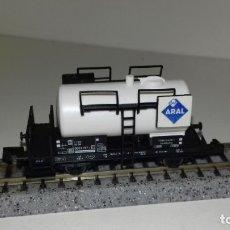 Trenes Escala: FLEISCHMANN N CISTERNA ARAL (CON COMPRA DE 5 LOTES O MAS, ENVÍO GRATIS). Lote 174603429