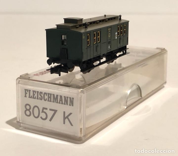 Trenes Escala: FLEISCHMANN FURGÓN POSTAL REFERENCIA 8057K, ESCALA N - Foto 2 - 175661658