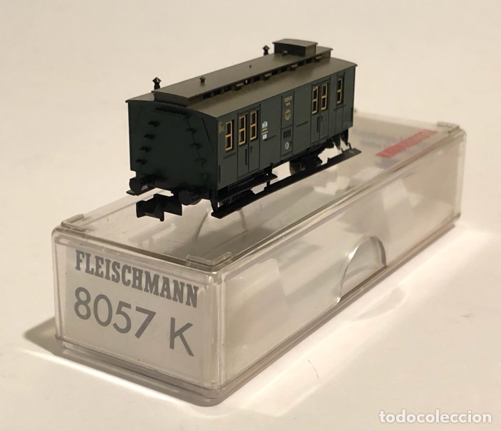 Trenes Escala: FLEISCHMANN FURGÓN POSTAL REFERENCIA 8057K, ESCALA N - Foto 4 - 175661658