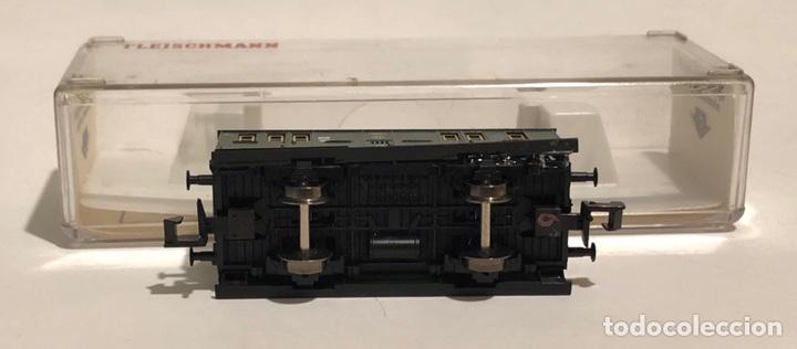 Trenes Escala: FLEISCHMANN FURGÓN POSTAL REFERENCIA 8057K, ESCALA N - Foto 5 - 175661658