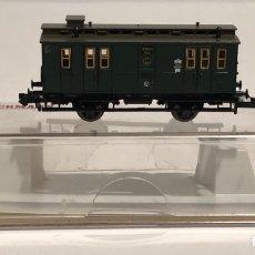 Trenes Escala: FLEISCHMANN FURGÓN POSTAL REFERENCIA 8057K, ESCALA N. Lote 175661658