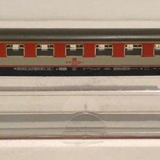Trenes Escala: FLEISCHMANN VAGÓN DE PASAJEROS REFERENCIA 8118, ESCALA N. Lote 175663134