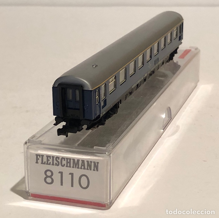 Trenes Escala: FLEISCHMANN VAGÓN DE PASAJEROS REFERENCIA 8110, ESCALA N - Foto 4 - 175663260