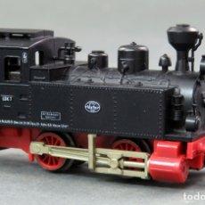 Trenes Escala: LOCOMOTORA VAPOR FLEISCHMANN PICCOLO N GERMANY FUNCIONA. Lote 176186430