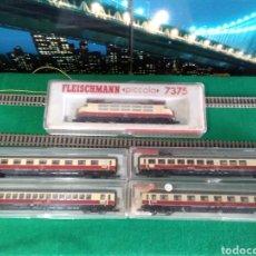 Trenes Escala: FLEISCHMANN N COMPOSICIÓN TEE DE LA DB. Lote 176243950
