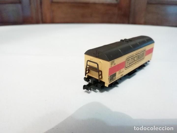 Trenes Escala: Fleischmann N 9391Vagón Frigorífico Cerrado Amarillo Perfecto Estado - Foto 3 - 176734397