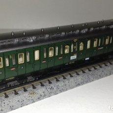 Trenes Escala: FLEISCHMANN N PASAJEROS PRUSIANO CON GARITAL43-192 (CON COMPRA DE 5 LOTES O MAS ENVÍO GRATIS). Lote 180399493