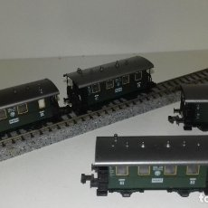 Trenes Escala: FLEISCHMANN N 3 PASAJEROS 2ª 3ª Y EQUIP 2 EJESL43-199(CON COMPRA DE 5 LOTES O MAS ENVÍO GRATIS). Lote 180488770