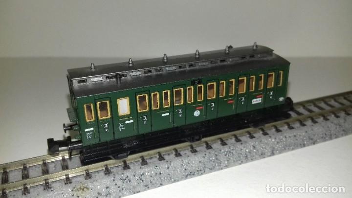 FLEISCHMANN N PASAJEROS 3 EJES L43-204(CON COMPRA DE 5 LOTES O MAS ENVÍO GRATIS) (Juguetes - Trenes a Escala N - Fleischmann N)