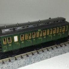 Trenes Escala: FLEISCHMANN N PASAJEROS 3 EJES L43-205(CON COMPRA DE 5 LOTES O MAS ENVÍO GRATIS). Lote 180957667