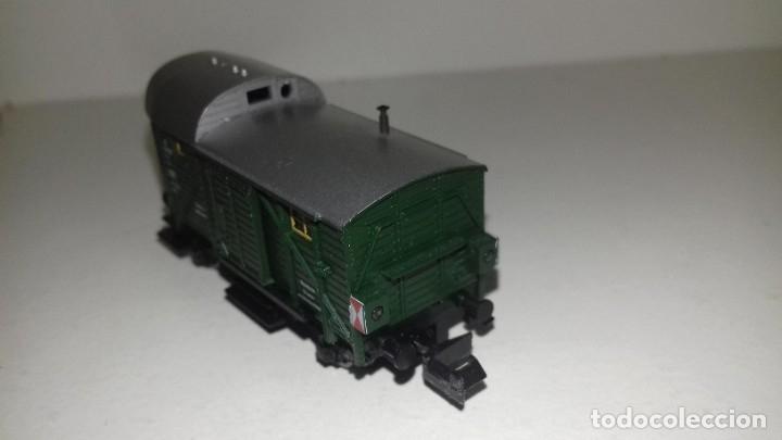 Trenes Escala: FLEISCHMANN N fin d convoy ptas correde y luz situ L43-207(Con compra de 5 lotes o mas envío gratis) - Foto 2 - 180958063
