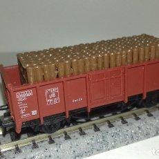 Trenes Escala: FLEISCHMANN N BORDE MEDIO CON CARGAL43-212 (CON COMPRA DE 5 LOTES O MAS ENVÍO GRATIS). Lote 181070381