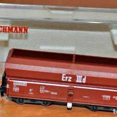 Comboios Escala: TOLVA MINERAL AUTODESCARGABLE DE FLEISCHMANN, REF. 8520. ESCALA N. VÁLIDO IBERTREN.. Lote 181794638