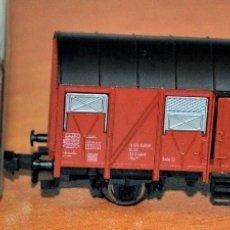 Trenes Escala: VAGÓN CERRADO 2 EJES DE LA DB DE FLEISCHMANN, REF. 8330. ESCALA N. VÁLIDO IBERTREN.. Lote 181795728