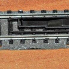 Trenes Escala: TRAMO DE VÍA RECTA DE 111 MM DESENGANCHADORA DE FLEISCHMANN, REF. 9114. ESCALA N.. Lote 181949206