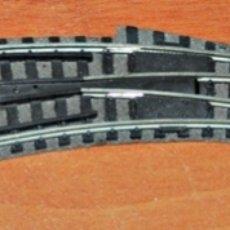 Trenes Escala: DESVÍO EN CURVA A IZQUIERDAS DE FLEISCHMANN. ESCALA N.. Lote 181949760