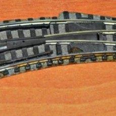 Trenes Escala: DESVÍO EN CURVA A IZQUIERDAS DE FLEISCHMANN. ESCALA N.. Lote 181949912