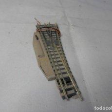 Trenes Escala: DESVIO ELECTRICO DERECHO ESCALA N DE FLEISCHMANN. Lote 183583953