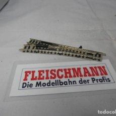Trenes Escala: DESVIO MANUAL ESCALA N DE FLEISCHMANN . Lote 183584645