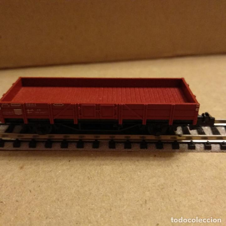 Trenes Escala: circuito fleischmann piccolo locomotora vagones shell trafo desvíos rectas curvas - Foto 5 - 183727202