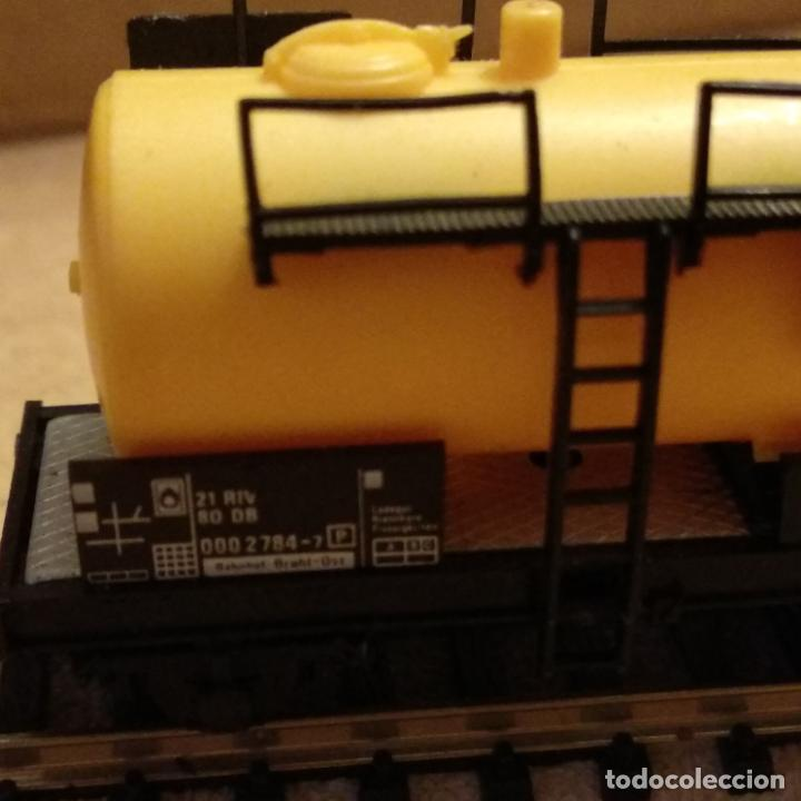 Trenes Escala: circuito fleischmann piccolo locomotora vagones shell trafo desvíos rectas curvas - Foto 17 - 183727202