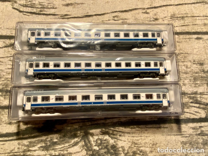 VAGONES FLEISCHMANN RENFE GRANDES LÍNEAS (Juguetes - Trenes a Escala N - Fleischmann N)