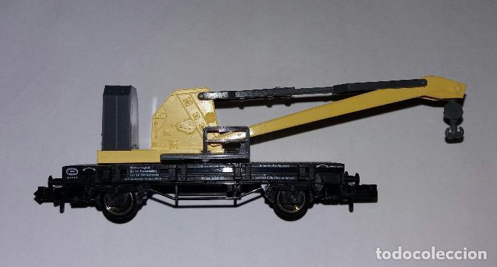Trenes Escala: Fleischmann Grua DB - Foto 2 - 186243472