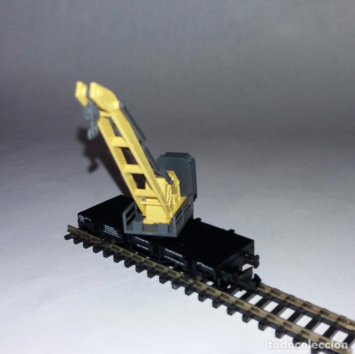 Trenes Escala: Fleischmann Grua DB - Foto 4 - 186243472