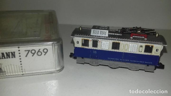 Trenes Escala: FLEISCHMANN N loco 7969 con limpiavias y 3 vagonesL44-117(C/ compra de 5 lotes o mas envío gratis) - Foto 2 - 187098967